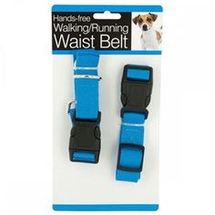 Go running or strolling with your pet with this Hands Free Dog Walking & Running Waist Belt featuring a hands free leash system that is designed for active people and active dogs. It is perfect for jogging, hiking and even puppy training.
