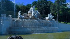 Neptune Fountain Big Garden, The Good Place, Fountain, Nice, Places, Outdoor Decor, Water Well, Water Fountains, Nice France