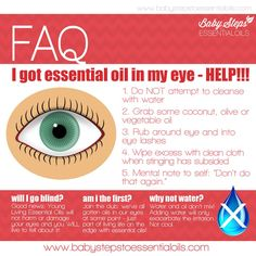 Young Living Essential Oils: Essential Oils in the Eye
