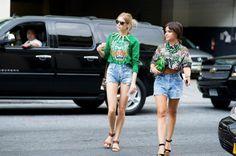 New York Fashion Week SS13 Street Style Part 2