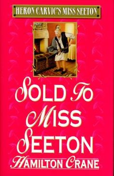 Sold to Miss Seeton by Hamilton Crane: Crane revives the beloved Miss Seeton character created by Heron Carvic in this humorous mystery.  Emily D. Seeton, retired art teacher, once again comes to the aid of Inspector Delphick of the Scotland Yard with her sketches of the suspects.  This time the action revolves around a mysterious antique box.
