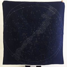 Constellation Quilt - Navy http://www.hapticlab.com/collections/cityquilts/products/constellation-quilt-blue