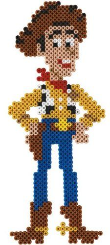 Woody Toy Story /  Perler Beads - Hama perlen - Bügelperlen