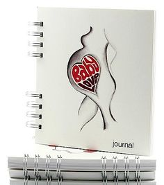 Blank Pregnancy Journal 240 page 'Baby Love'