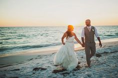 wedding photography  / www.arielrenaephoto.com / ariel Renae photography / bride and groom first look / destination wedding / Anna Maria island, Florida wedding / romantic emotional wedding photos / beach wedding / sunset