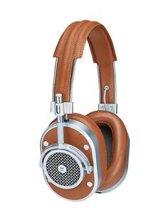 These look sweet! Wonder how they sound. MH40 Over Ear Headphones | Master and Dynamic