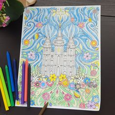 Create a fun work of art with this exclusive Easter coloring page from LDS Bookstore. Featuring the Salt Lake City Temple and hidden Easter eggs, it can be printed off right at home and in as many quantities as you'd like. It's perfect for church, Easter baskets, or General Conference weekend. You can also get …