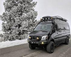 Mercedes Sprinter Camper Van, 4x4 Camper Van, Build A Camper Van, Off Road Camper Trailer, Sprinter Van, Ambulance, Adventure Trailers, Camper Van Conversion Diy, Truck Camping