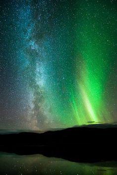 ✮ Milky Way over Finnmark, Norway