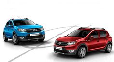 Blue, red or silver ? Dacia Stepway