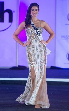 Miss Paraguay from Miss Universe 2017 Evening Gown Competition Ariela Machado Long Dresses, Formal Dresses, Planet Hollywood, Pageant Gowns, Beautiful Inside And Out, Miss World, Pageants, Beauty Pageant, Beauty Queens