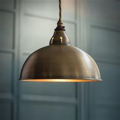 Butler Pendant Light made by Jim Lawrence Brass Ceiling Light, Ceiling Rose, Ceiling Pendant, Ceiling Lights, Lamp Light, Copper Pendant Lights, Kitchen Pendant Lighting, Kitchen Pendants, Dining Lighting