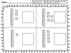 I created this place value set of worksheets for my kindergarten classroom. I hope you can find a use for it in your kindergarten class as ...