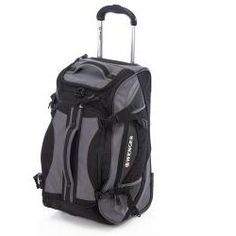 0b3b076843a5 Wenger Swiss Gear 20-inch Rolling Carry-On Upright Duffel Bag - product -