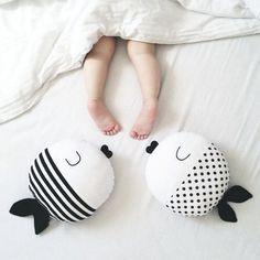 Cute Pillow Cover Home Decor Sofa Bed Car Throw Cartoon Fish Pillow Case