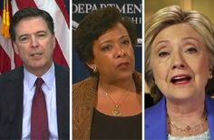 """Just In: FBI Discovers Email About Loretta Lynch And Hillary - It Tells You Everything... SO ARREST ALL 3 OF THEM!FBI Director James Comey has become a persona non grata in Washington D.C. for his handling of the Hillary Clinton email investigation. Democrats pin the blame of Clinton's election loss on Comey's shoulders for his Oct. 28 letter to Congress in which he announced the FBI had""""learned of the existen"""