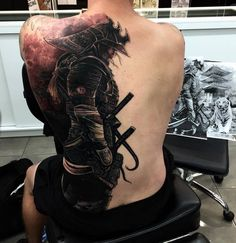 samurai tattoo back tattoo design ideas for men #japanese #tattoos #ideas spettacolareeeeeeeee