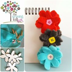 {How To} Flower Clips