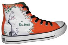 Dr Seuss How the Grinch Stole Christmas Converse