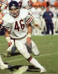 Doug Plank # 46 Chicago Bears SS College:Ohio State Nfl Chicago Bears, Bears Football, Football Memes, Football Players, Football Uniforms, Football Baby, School Football, Baseball, Chi Bears