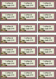 CONFITURE DE REINE-CLAUDE 2014