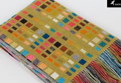 m Welsh Blanket, Wool Blanket, Weaving Textiles, Graphic Patterns, Handmade Home, Woven Fabric, Fabric Weaving, Holiday Gift Guide, Textile Design