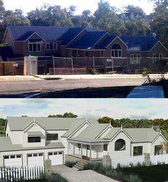 River House Under Construction   Storybook Designer Kit Homes Australia