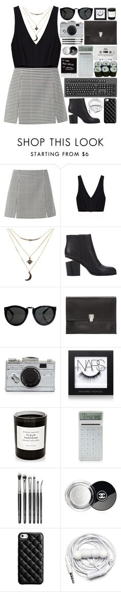 """slow dancing in a burning room"" by ayeitzsarah ❤ liked on Polyvore featuring Charlotte Russe, Alexander Wang, Proenza Schouler, Kate Spade, NARS Cosmetics, Byredo, CASSETTE, LEXON, Jura and Chanel"