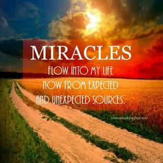"""From a 'State of Gratitude"""" ~ Miracles Happen ~ Expect Them ~ Lightbeingmessages.com"""