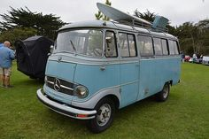 1962 Mercedes O 319 new to AAT cars