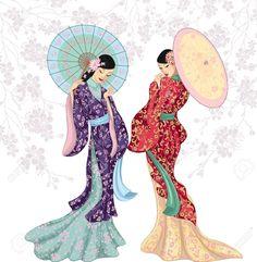 mujeres chinascon sombrilla - Buscar con Google