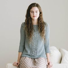 adelaide pullover knitting pattern - Quince and Co