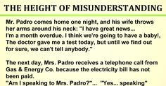 That night, she tells her husband about the incident, and he mad as a bull, rushes to Gas & Energy Co. office the next day morning.