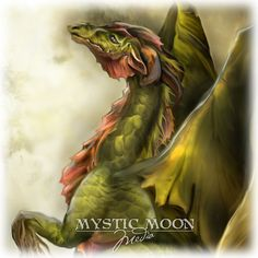Elemental Dragons Collection.. Earth Dragon... by mysticmoonmedia