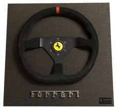 Ferrari Challenge Race Car Display Wheel