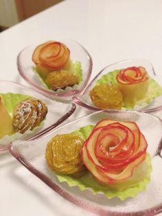 roseapple pie & sweet potato