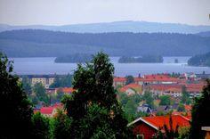 Ludvika och Väsman taget från Knutsbo