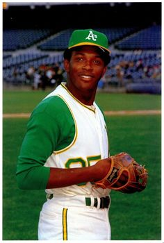 Former A's pitcher, Vida Blue.