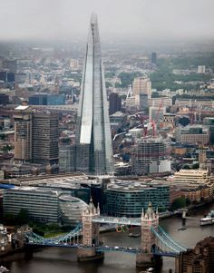 The Shard, London, another carbuncle on London's skyline (in my opinion)