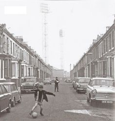Oxton Street, Goodison Park in back ground