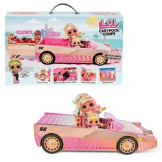 Car-Pool Coupe with Exclusive Doll, Surprise Pool & Dance Floor Pool Dance, Pool Liners, Surprise Baby, Disney Princess Ariel, Mermaid Dolls, Lol Dolls, Baby Bottles, Love Is Sweet, Toys For Girls