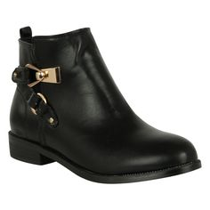 Rock and Rags Giddy Ankle Boots | Shop Womens Boots Online