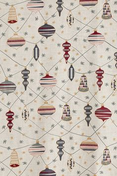 tyg med tryckt mönster