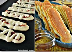 Pancake dippers