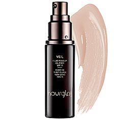Tried and liked this Sephora sample... Hourglass - Veil Fluid Makeup Oil Free SPF 15