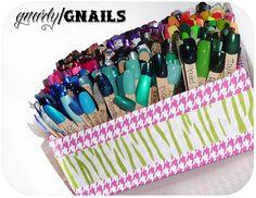 DIY Swatchicles organizer, i need to this my polish is so unorganized