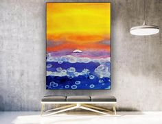 Large Abstract Painting Modern abstract painting original image 1 Kids Room Paint, Colorful Artwork, Bathroom Wall Art, Extra Large Wall Art, Office Wall Art, Modern Wall Decor, Texture Art, Original Image, Art Images
