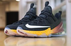 29dd2c4a3a08 J.R. Smith s NBA Finals Game 1 PE Nike LeBron 13 Low Buy Nike Shoes