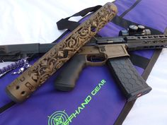 Www.OffHandGear.com to order the new Fluer D' Lis handguard!