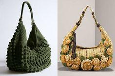 Вязаные сумки / Вязание спицами / Вязание спицами. Работы пользователей